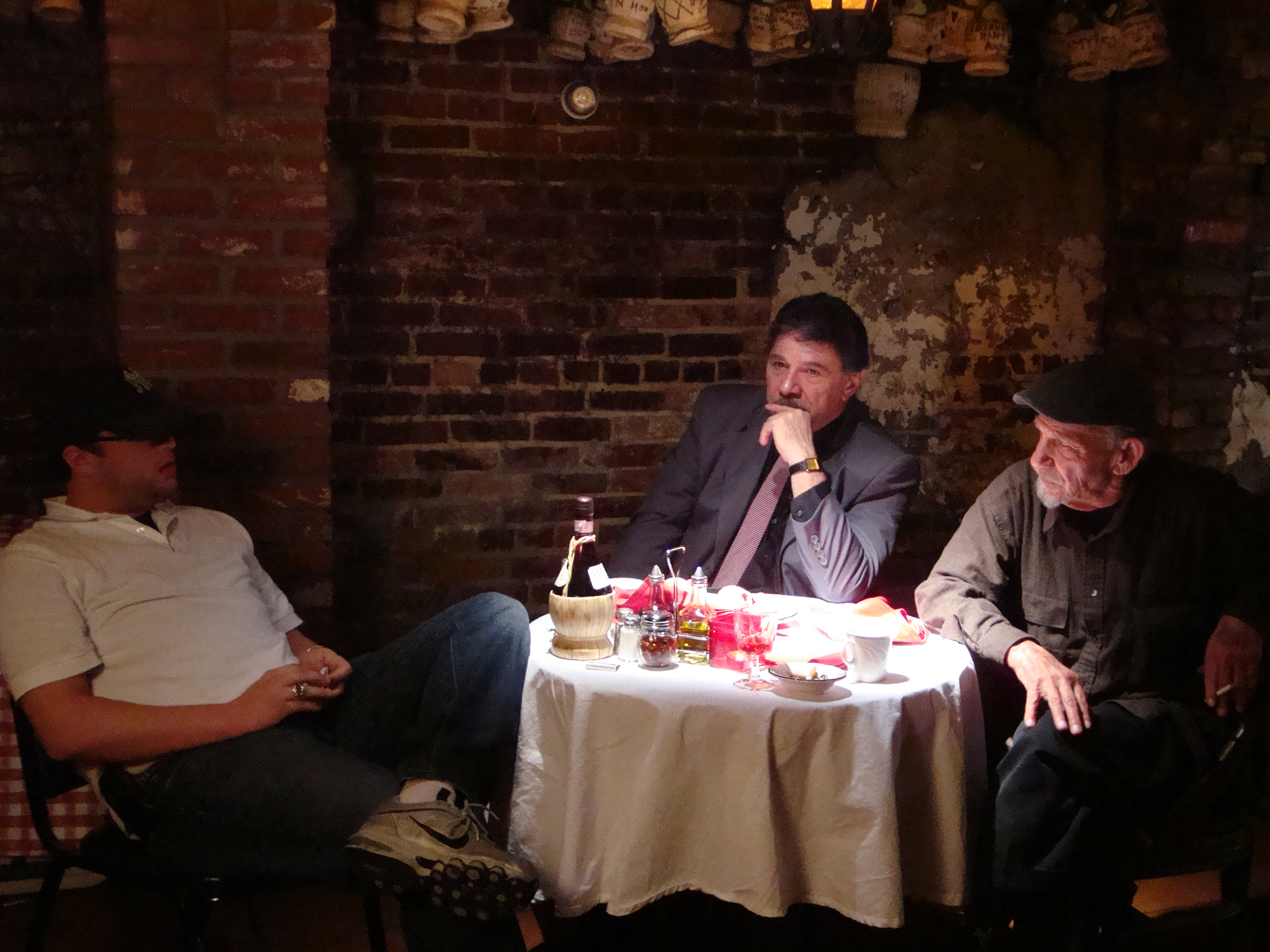 Left to Right: David Uslan, Joe Hill, and Henry Hill